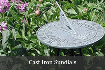 Cast Iron Sundials