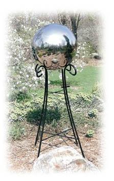Gazing Globe Pedestal Base Yard Envy
