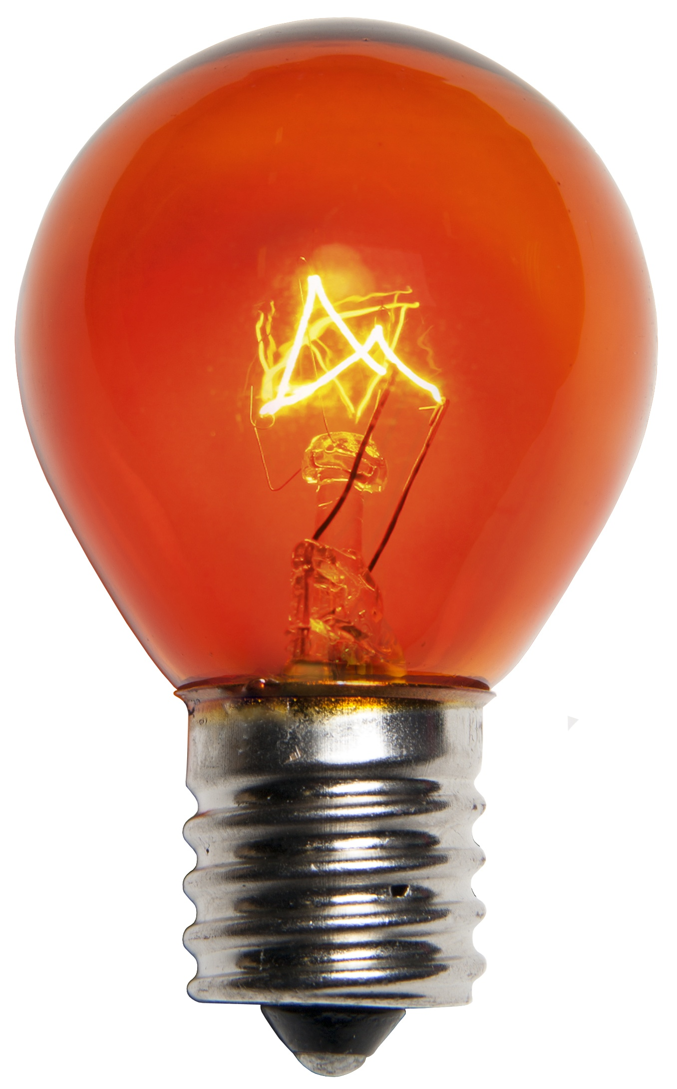 S11 Colored Party Bulbs Amber Yard Envy