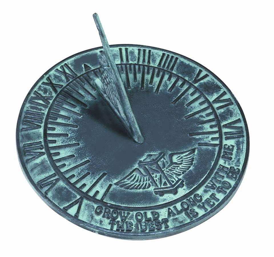 Cast Iron New Salem Sundial