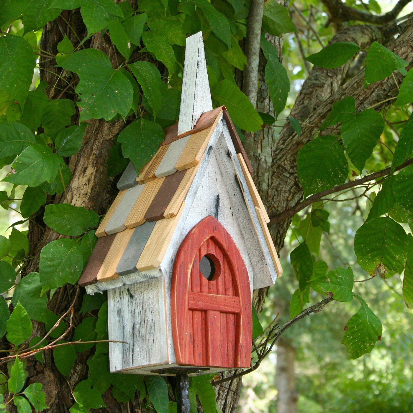 Flock Of Ages Chapel Bird House Yard Envy