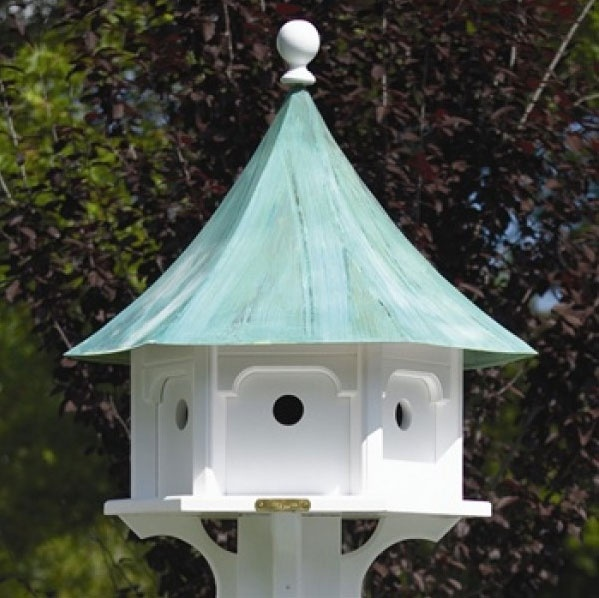 Victorian Backyard Birds : Carousel Bird House  Yard Envy