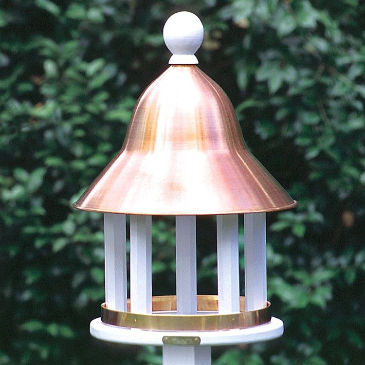 Decorative Vinyl Bell Bird Feeder Yard Envy