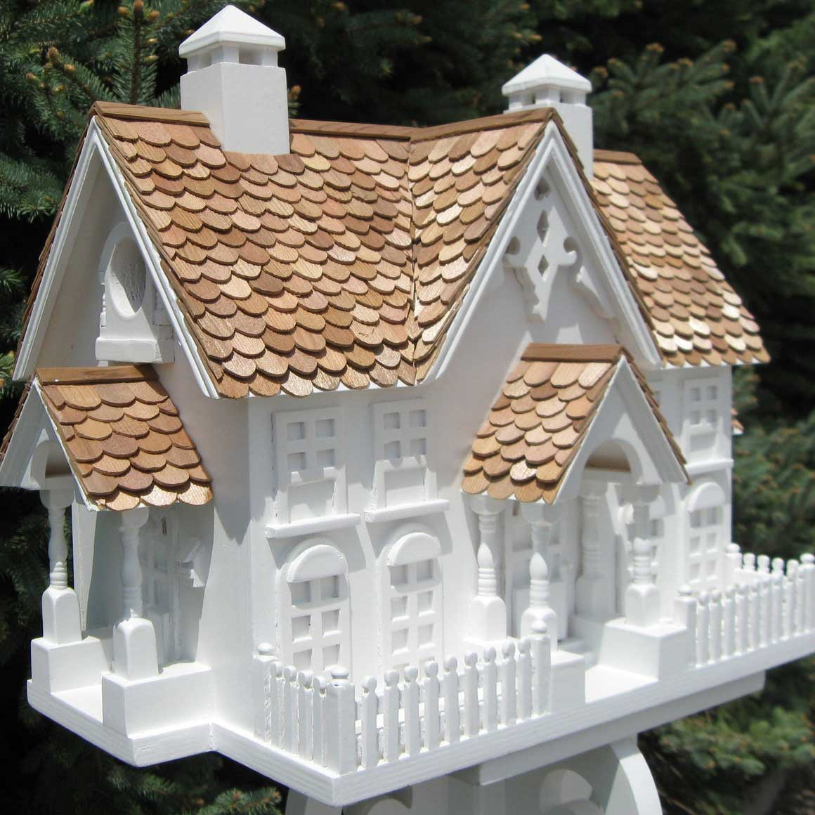 Decorative wrension bird house yard envy for Best birdhouse designs