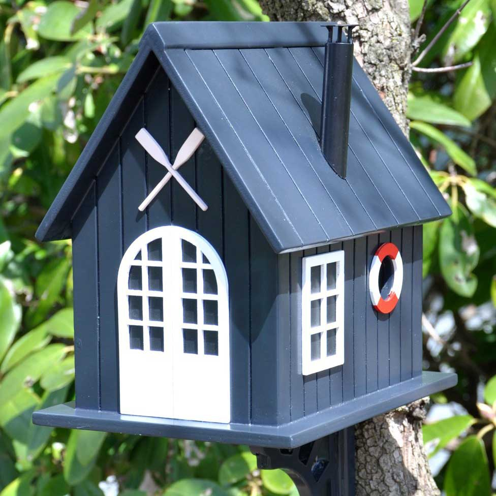 Boat House Birdhouse - Yard Envy