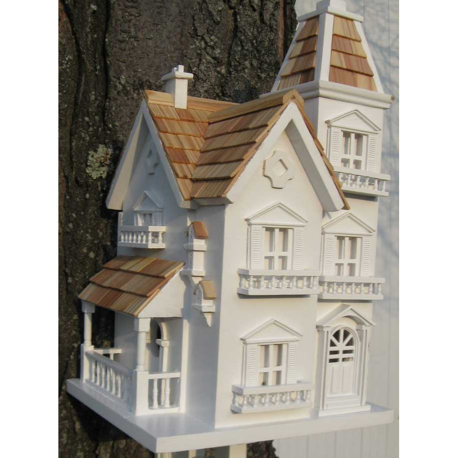 Victorian Manor Bird House With Bracket Yard Envy