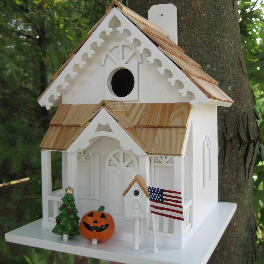 Season S Tweetings Bird House Yard Envy