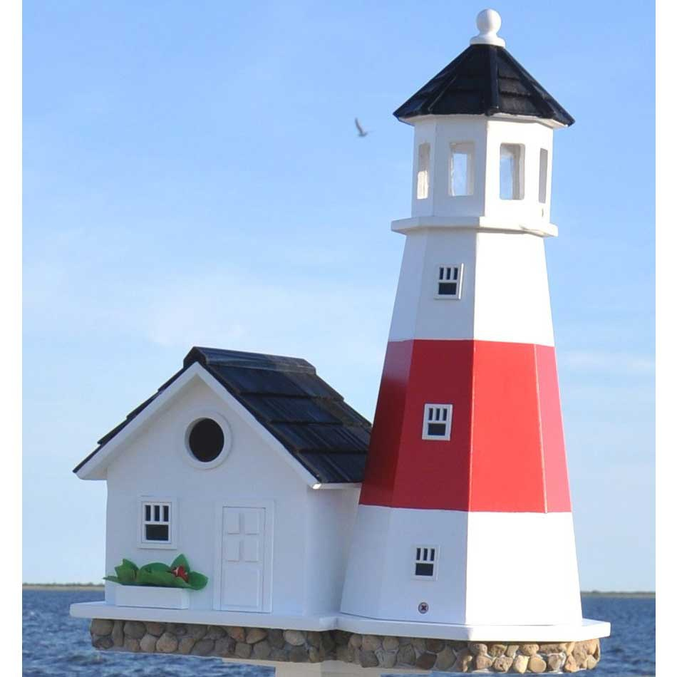 Montauk Point Lighthouse Birdhouse Yard Envy
