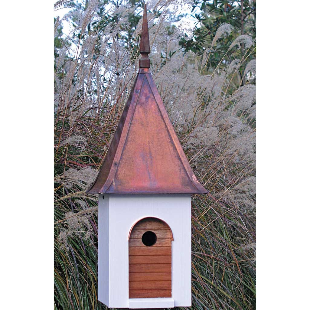 Victorian Backyard Birds : French Villa Bird House  Yard Envy