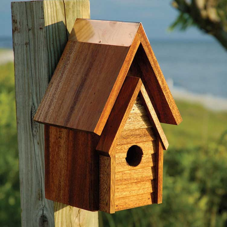 Wrental Bird House Yard Envy