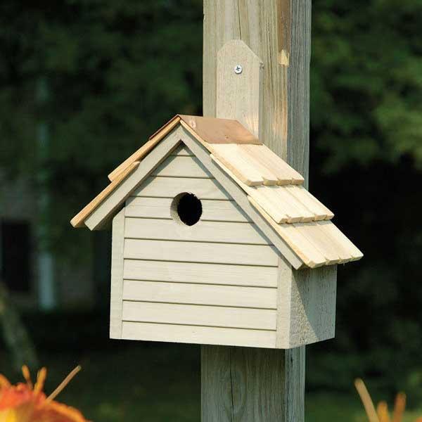 Cape Cod Wren Bird House Yard Envy