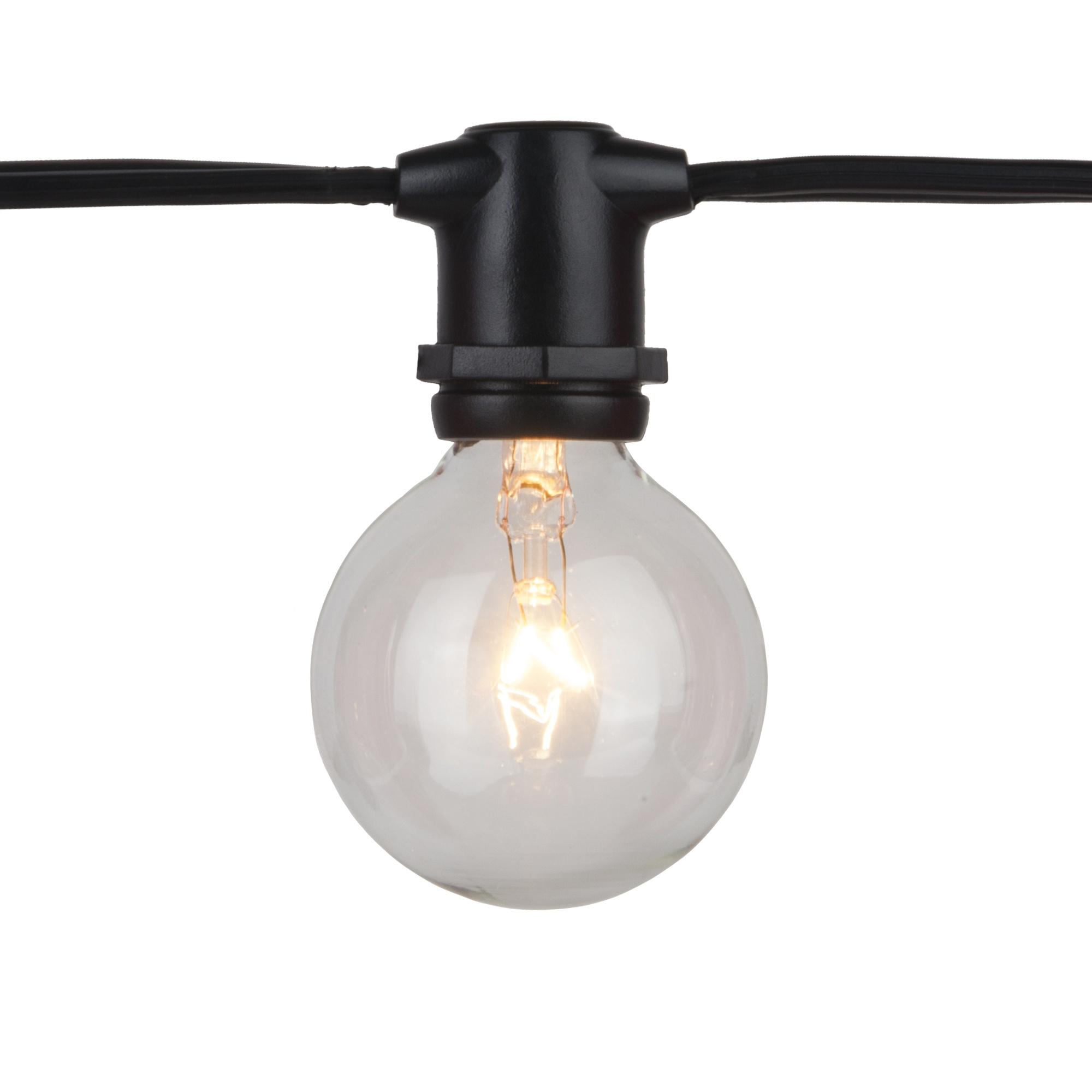 C9 mercial Patio Light String E17 Intermediate Sockets