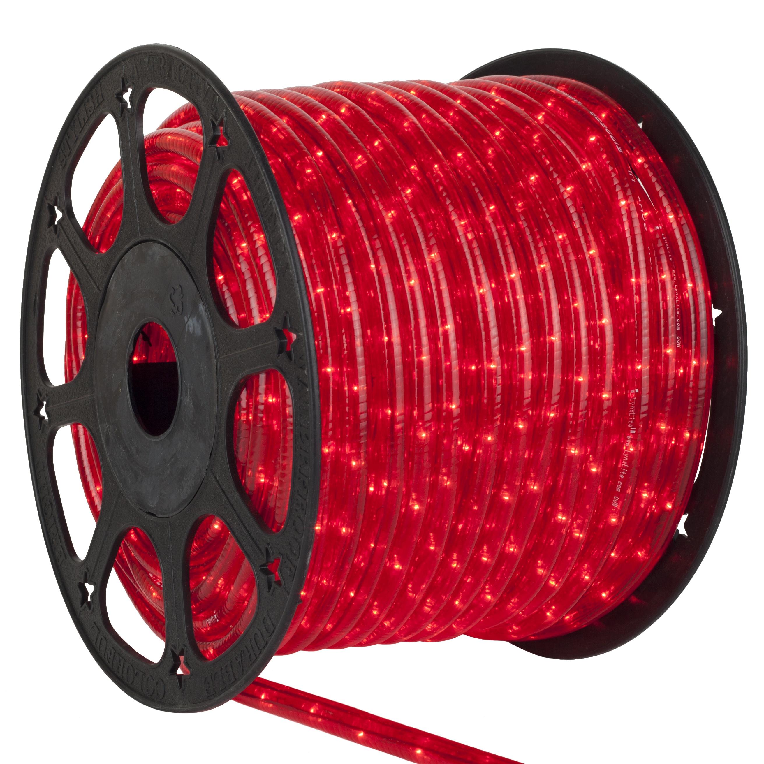 red rope lights 12 volt yard envy