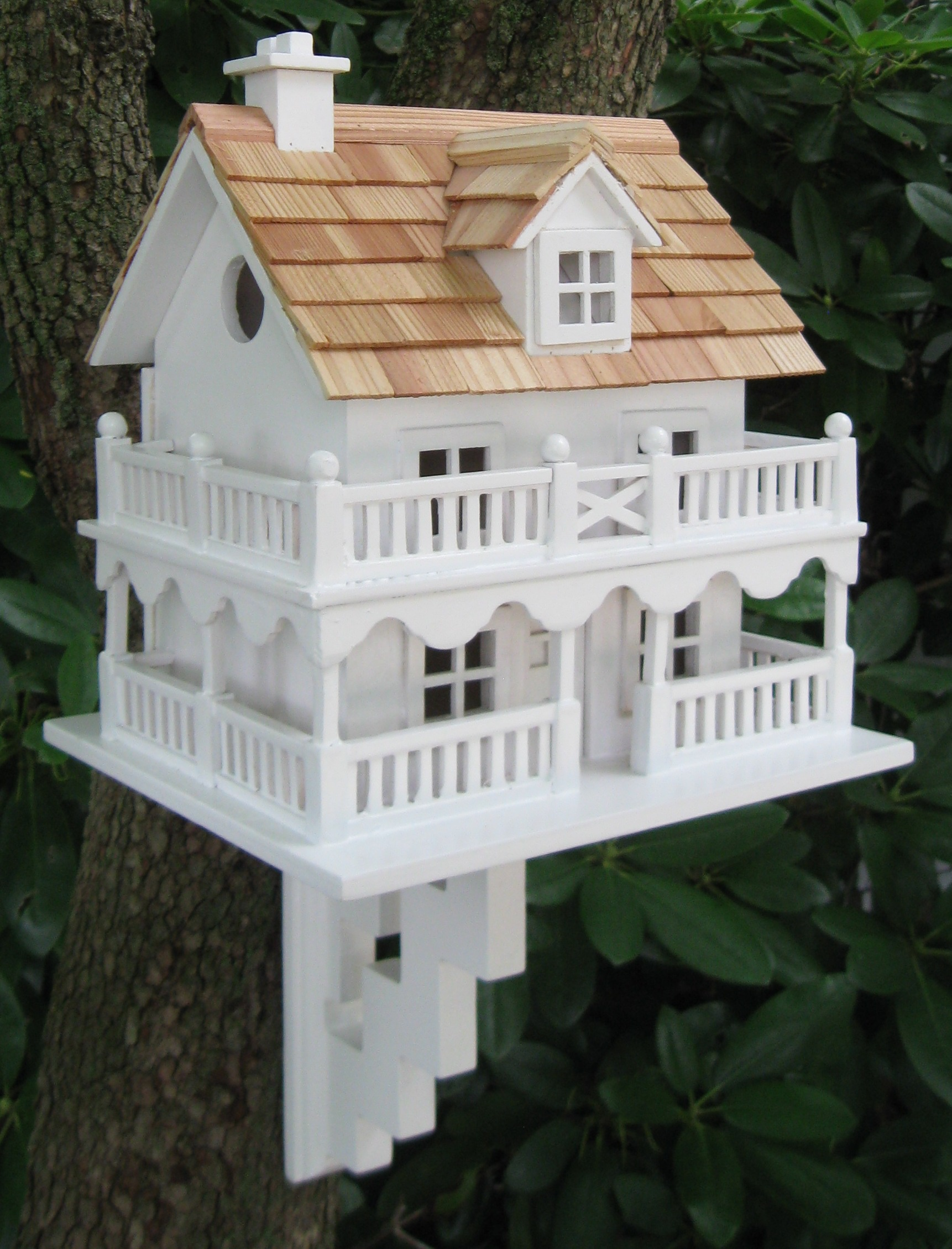 Novelty cape cod bird house yard envy for Bird house styles