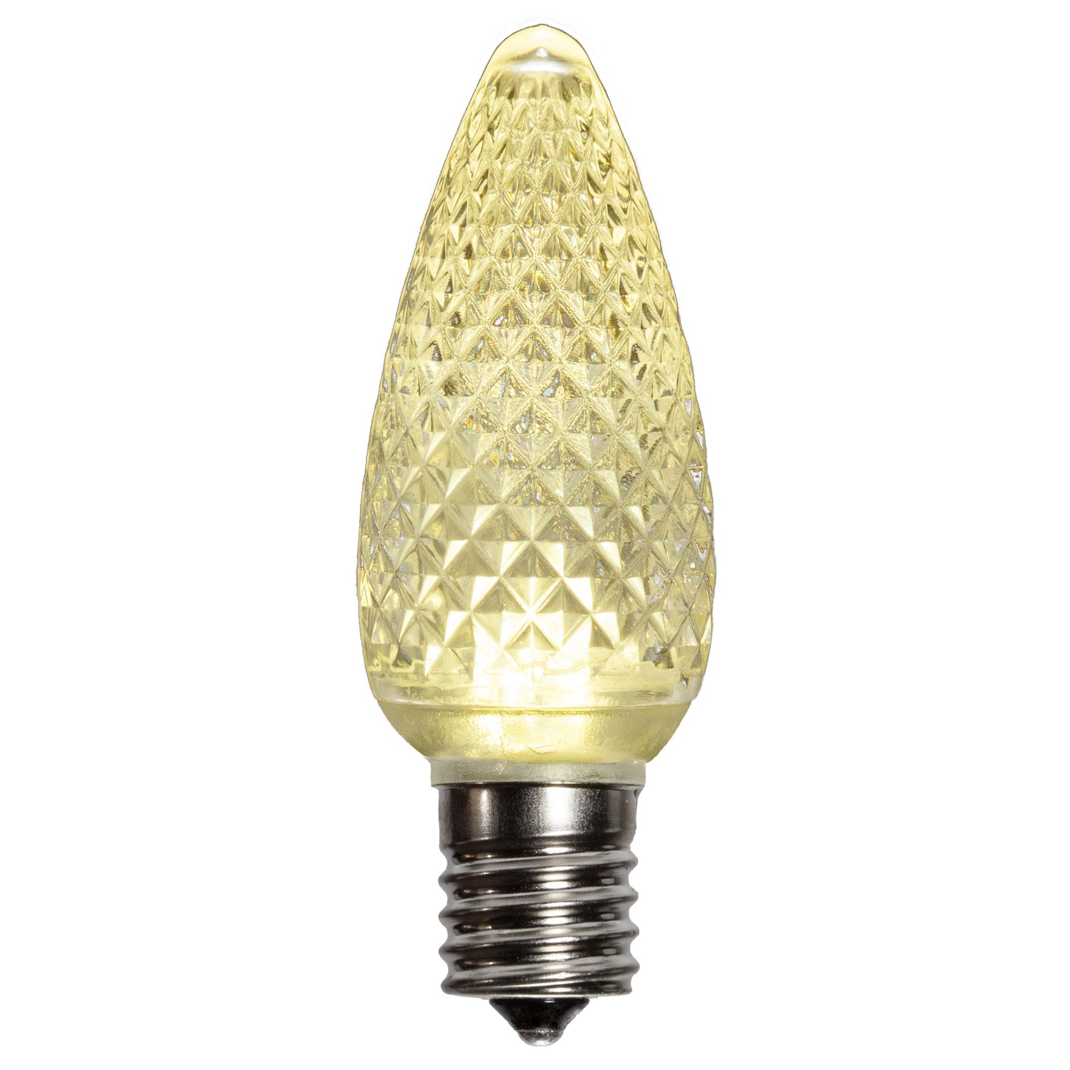 Led Bulbd: C9 LED Light Bulb, Warm White