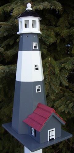 Tybee Island Lighthouse Bird House Yard Envy