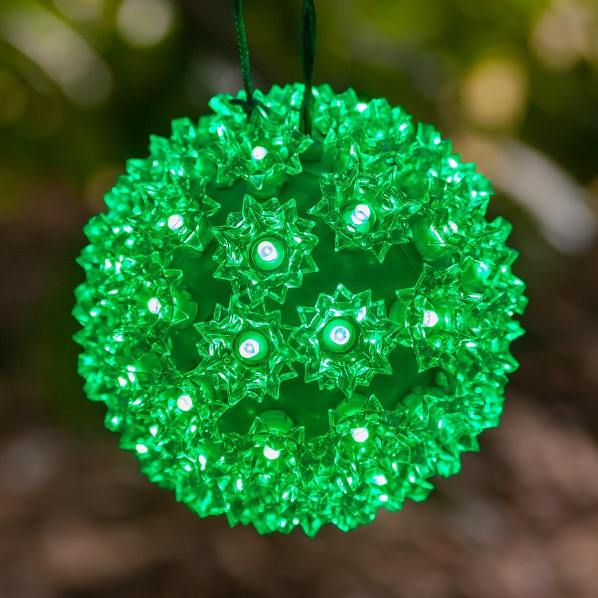Light sphere green led yard envy solutioingenieria Choice Image