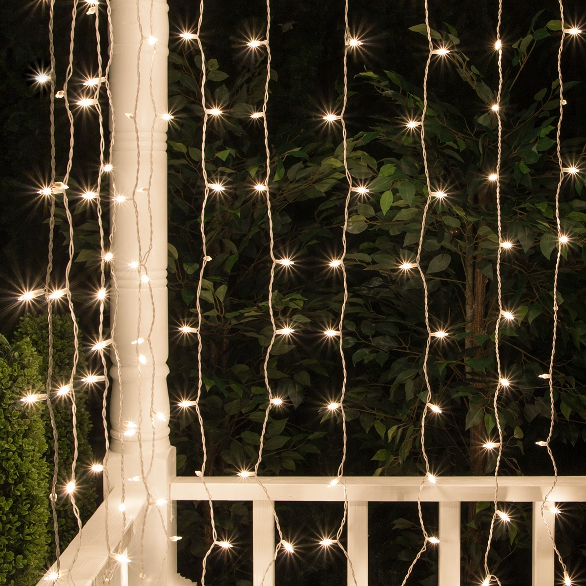 Curtain Lights 65 Quot Drops Clear Mini Lights White Wire