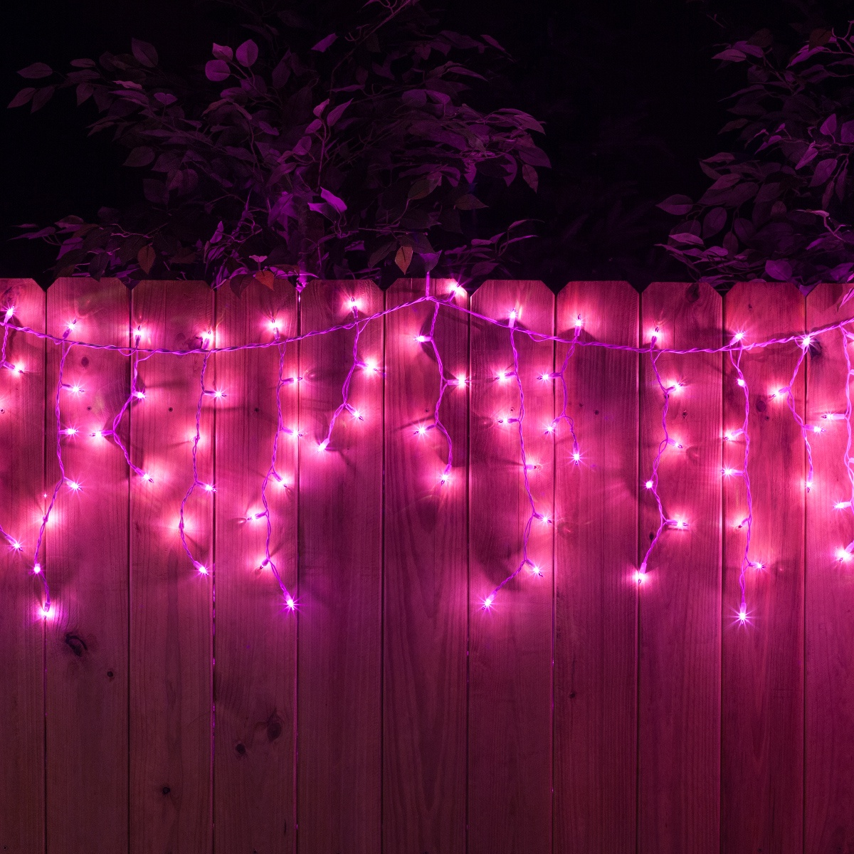 Comfortable Pink Christmas Lights White Wire Gallery - Electrical ...