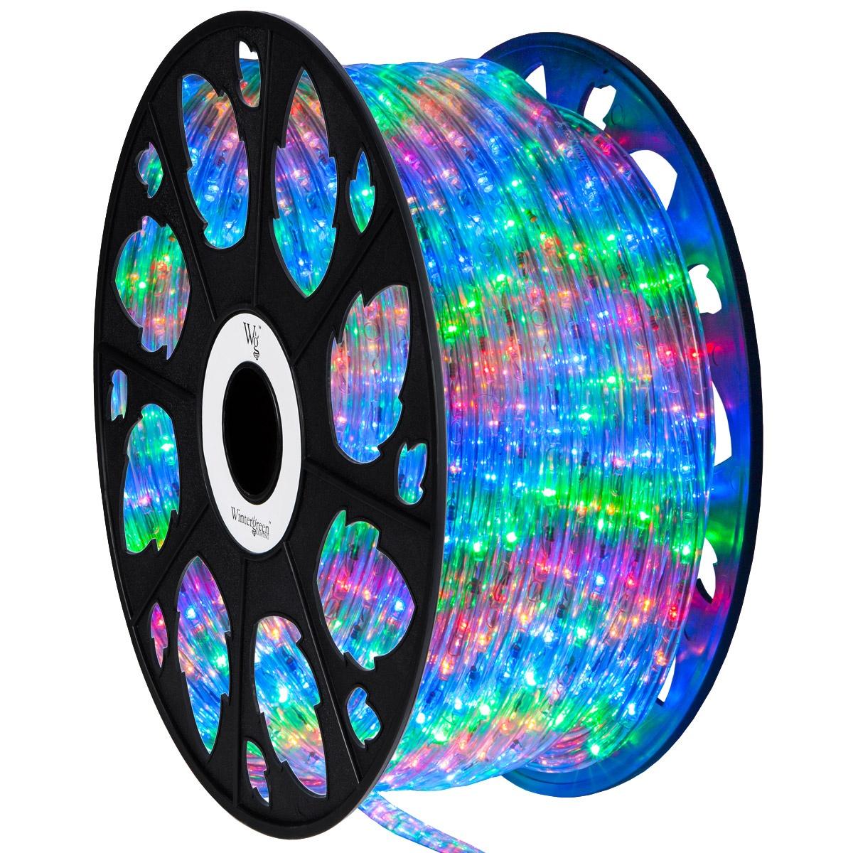 Multicolor led rope light 120 volt yard envy mozeypictures Choice Image