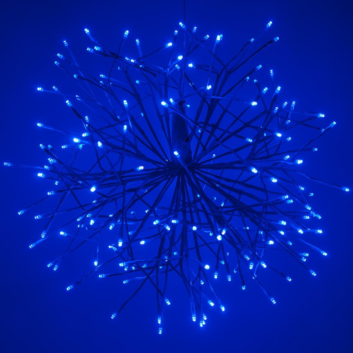 Blue Starburst Led Lighted Branches Blue Cool White