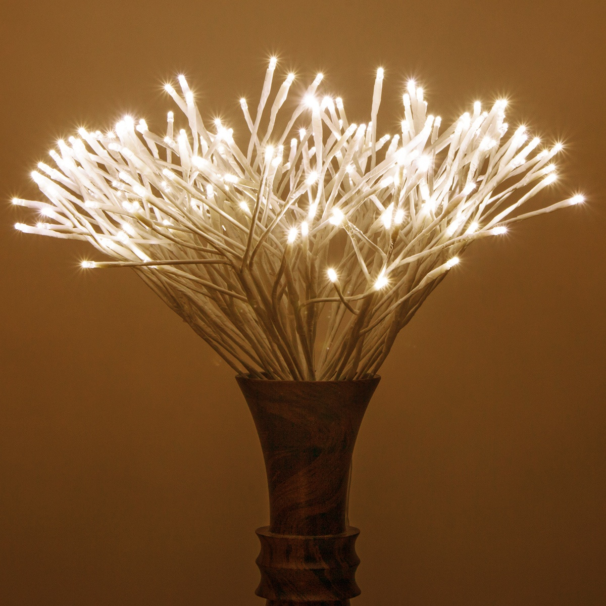 White Starburst Led Lighted Branches Warm White Twinkle
