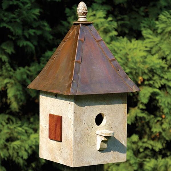 Recycled Bird Houses Yard Envy