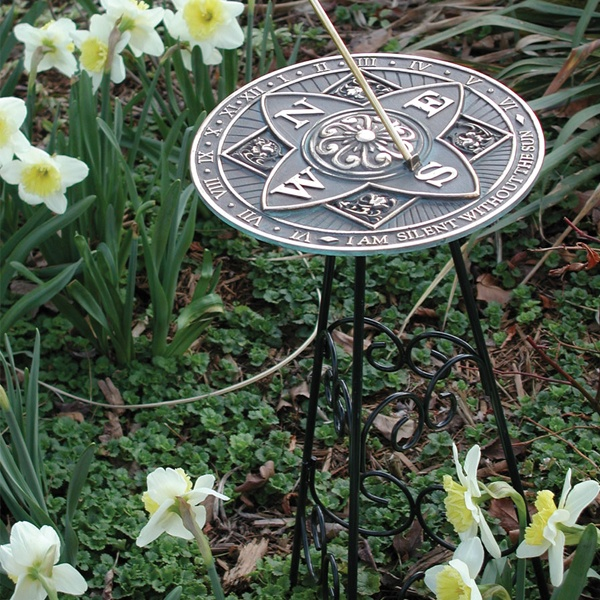 Perfect Tell Time With A Sundial In The Garden!