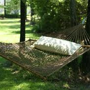 rope hammock with pillow
