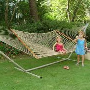 rope hammock with kids