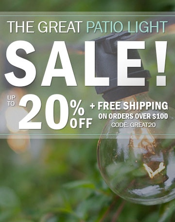 Patio Light Sale