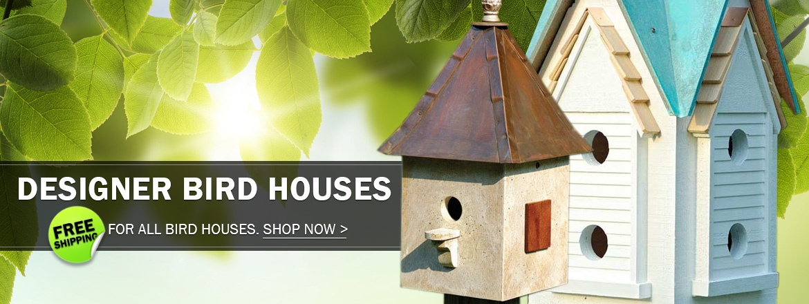 Free Shipping For All Bird Houses