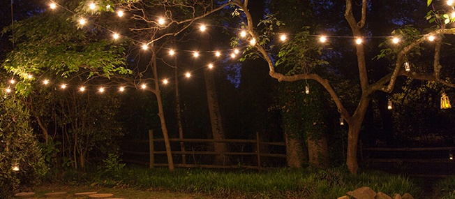 How To Hang Patio Lights Yard Envy